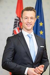 Gernot Blümel Austrian politician
