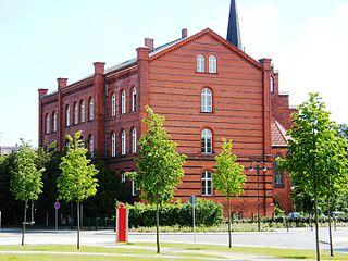 Guben Place in Brandenburg, Germany