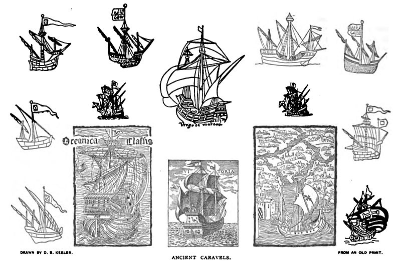 File:Ancient Caravels.jpg