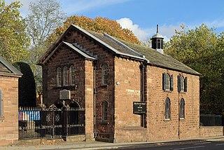 Toxteth Unitarian Chapel Church in Merseyside, England