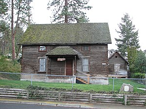 National Register of Historic Places listings in Wasco County, Oregon - Image: Anderson House Granary The Dalles Oregon