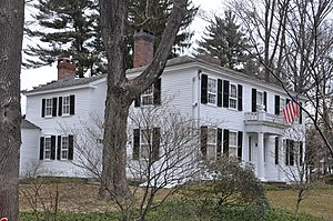 Abbot-Battles House - Image: Andover MA Abbot Battles House