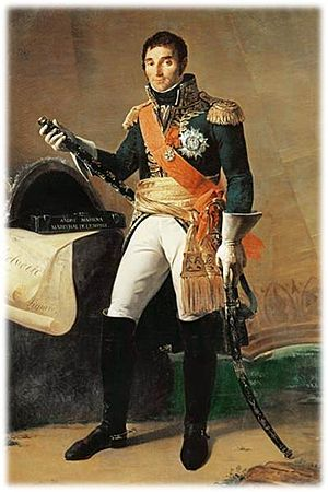 Joseph Bonaparte - Although Joseph was in nominal command, it was André Masséna who led the invasion of Naples in 1806.