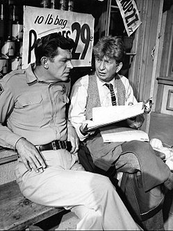 Andy Griffith Sterling Holloway Andy Griffith Show 1962.JPG