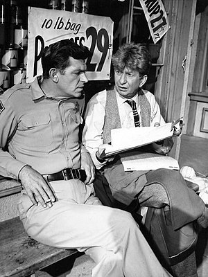 Sterling Holloway - Andy Griffith and Holloway in 1962