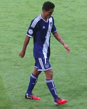 Andy Najar - Andy Najar with Anderlecht
