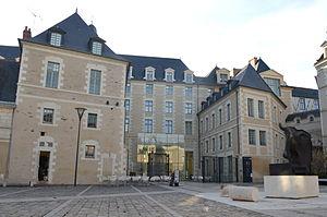 Musée des Beaux-Arts d'Angers - Musée des Beaux-Arts is in Logis Barrault