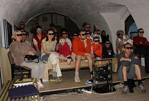 Anifest - 3D movie screening at the 2007 festival in Třeboň