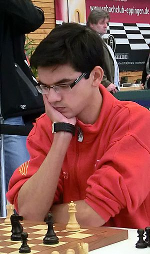 Anish Giri - Anish Giri in Bundesliga 2014