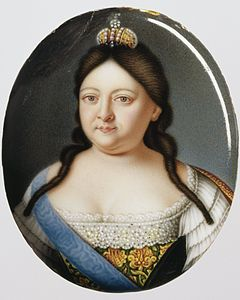 Anna of Russia by anonym after Caravaque (c.1730-40, Hillwood museum).jpg