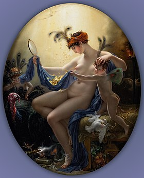 Anne-Louis Girodet de Roucy-Trioson - Portrait of Mlle. Lange as Danae - Google Art Project.jpg