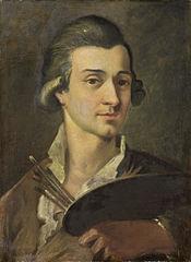 Portret van een schilder