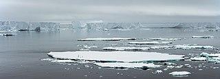 strait in Antarctica