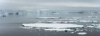 Antarctic Sound - Sea ice on Antarctic Sound