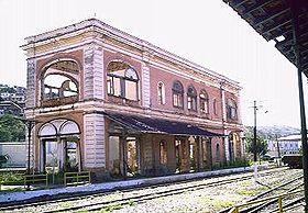 Ruínas da Estação de Porto Novo