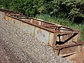Antiga ponte ferroviária Ytuana-Sorocabana que estava sobre o Ribeirão Piraí, limite dos municípios de Salto e Indaiatuba. Retirada para duplicação da ferrovia. - panoramio.jpg