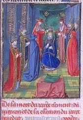 The coronation of Benedict XIII.