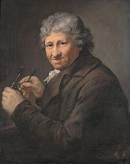 Anton Graff - Portret Daniela Chodowieckiego (1800)