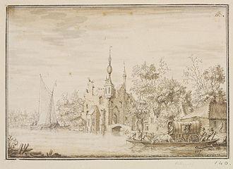 Antonina Houbraken - Fantasy landscape