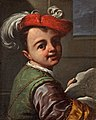 Antonio Amorosi - Boy Holding a Caricature, c.1700, A58.jpg
