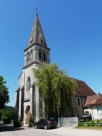 Antonne-et-Trigonant - Image: Antonne église