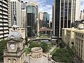 Anzac Square, Brisbane seen from L3 terrace, Sofitel Hotel 01.jpg