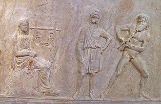 Древнегреческие боги и музи