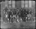 Arapaho delegation, in front of Smithsonian's Arts and Industries Building. - NARA - 523596.tif