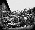 Arbeidere ved Kværner Brug - ca. 1870 - Ole Tobias Olsen - Oslo Museum - OB.OT085.jpg