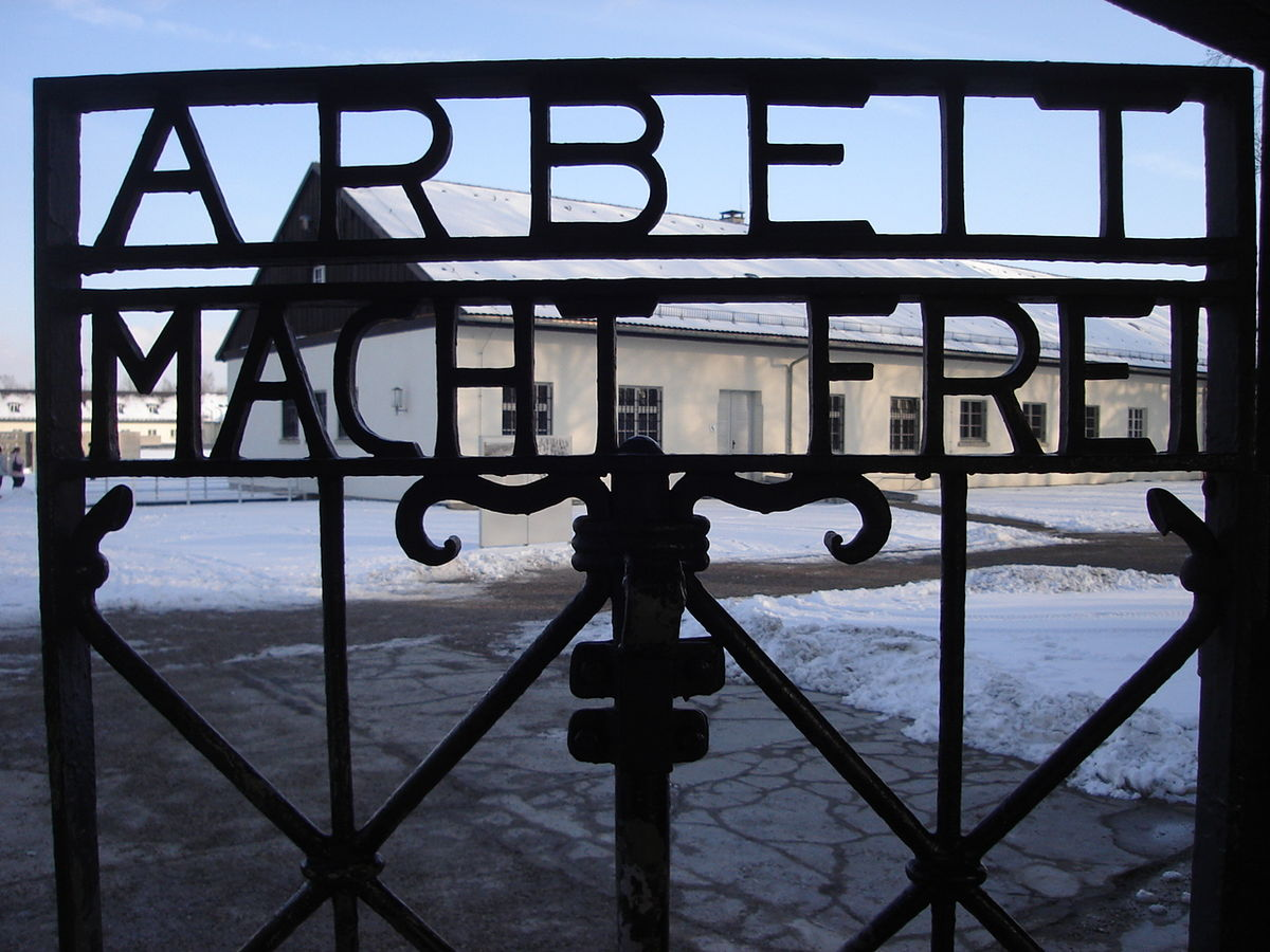 """Резултат с изображение за """"първият нацистки концлагер Дахау."""""""