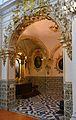Arc d'entrada a la capella de la Comunió o fonda, institut Lluís Vives de València.JPG