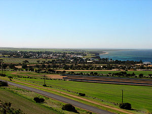 Yorke Peninsula - The town of Ardrossan, located in Yorke Peninsula