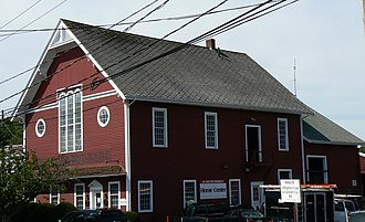 National Register of Historic Places listings in Arlington, Massachusetts - Image: Arlington MA Arlington Coal And Lumber