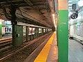 Arlington station inbound platform, December 2015.JPG