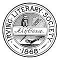 Arms Irving Literary Society 1883 Cornellian.jpg