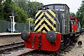 Army engine East Kent Railway Shepherdswell Kent England 1.jpg