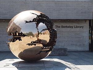 Trinity College Library - Arnaldo Pomodoro's Sfera con Sfera at The Berkeley Library