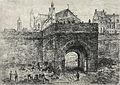 Arnoud Schaepkens, OLV-Poort, Maastricht, ca 1860.jpg