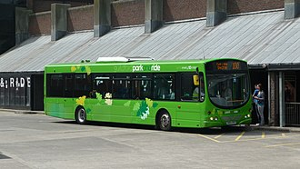 Arriva Guildford & West Surrey - One of five Volvo B7RLE/Wright Eclipse Urbans used on the Guildford park and ride. This is 3731, seen in its old livery, painted light green to represent spring.