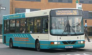 VDL SB120 - A DAF SB120/Wright Cadet owned by Arriva, UK.