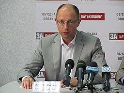 Arseniy Yatsenyuk in 2012.JPG
