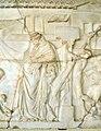 Arte romana, dioniso che visita l'attore ateniese ikarios, da efeso 03.JPG