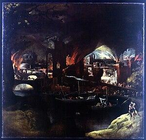 Filippo Napoletano - Burning of Troy (Fondazione Cariplo)
