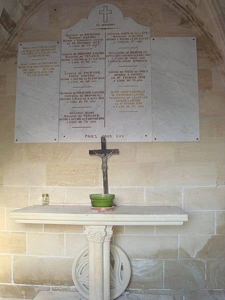 Arthel Graveyard - Tomb (inside)
