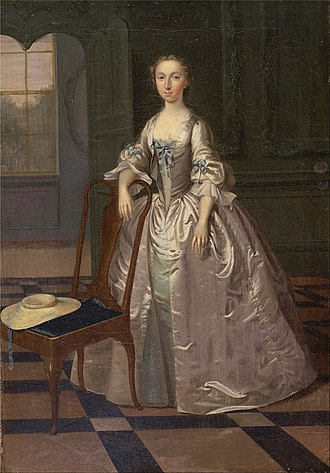 Arthur Devis (1712–1787) - Image: Arthur Devis A Lady in a Drawing Room Google Art Project
