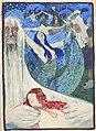 Artuš Scheiner, Návrh plakátu, akvarel, uhel, před 1938, Fond Karáskova galerie PNP.jpg