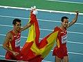 Arturo Casado and Manuel Olmedo - Barcelona 2010.jpg