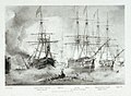 Asia and other vessels at the Battle of Navarino, 20 Oct 1827 PW4812.jpg