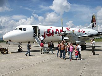 NAMC YS-11 - An Asian Spirit YS-11 in the Philippines (2007)