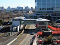 Assembly Square station from garage, February 2016.JPG